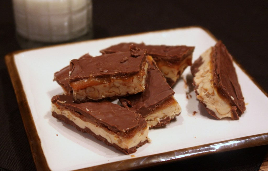 Homemade Snickers Bars | Marilyn Moll