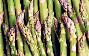 Fresh Asparagus Tips full of flavor