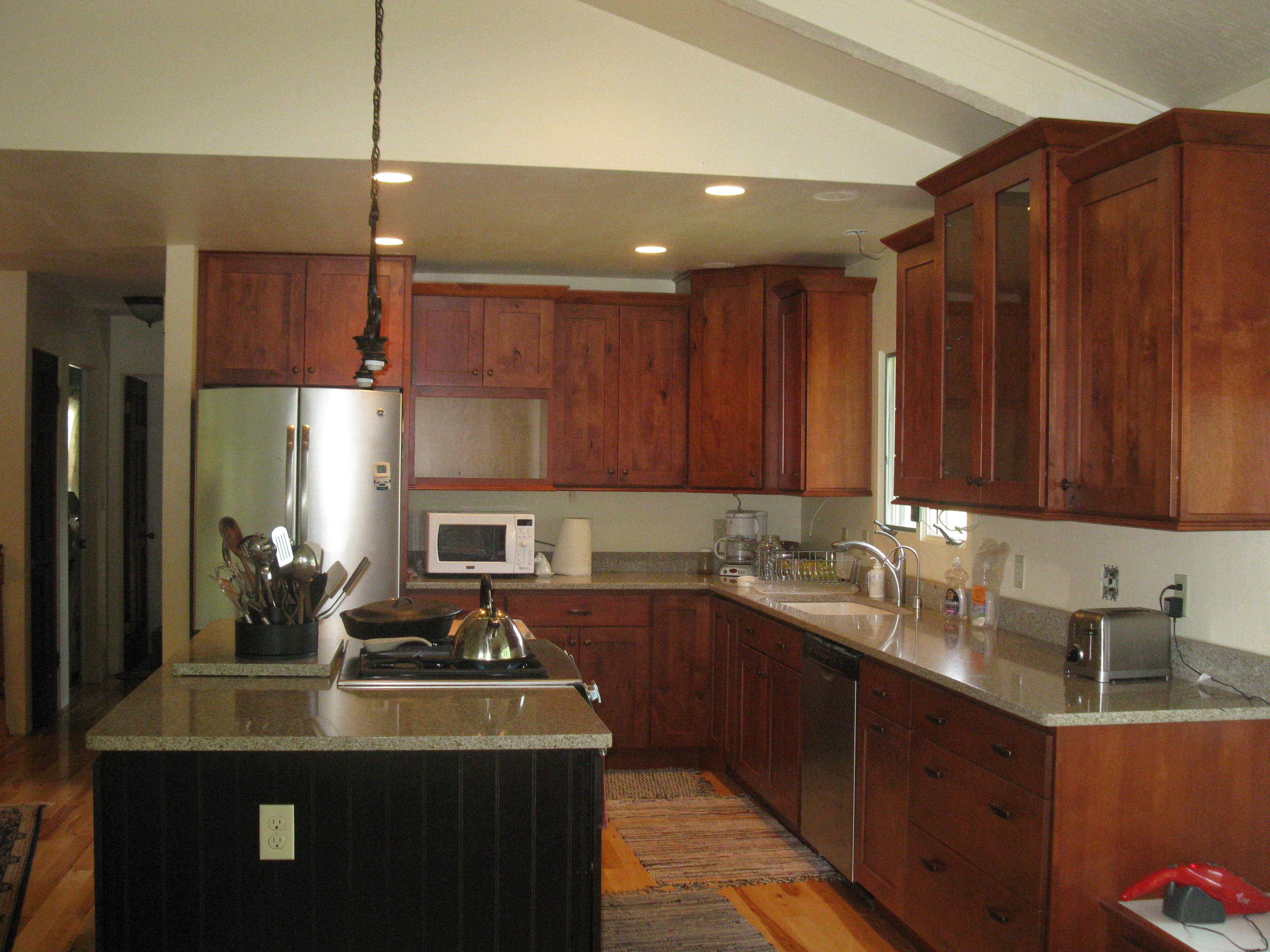 Kitchen Cabinet Installation is Completed