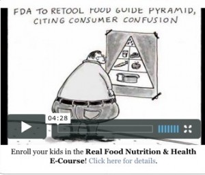 Enroll yur kids in a Real Food Nutrition and Health ecourse